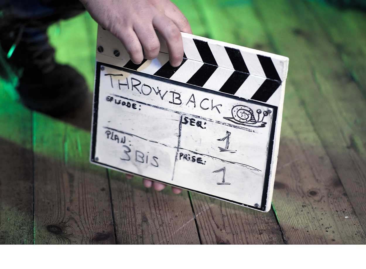 "2018 - Tournage ""Throwback"" (websérie)"