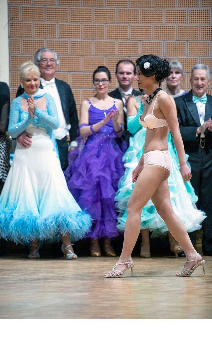 2020 - Indiscrète  : défilé de lingerie, Jaunay-Marigny (Vienne)